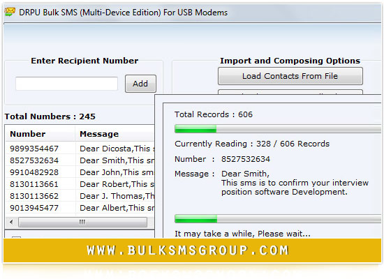 Windows 7 Bulk SMS USB Modem 8.2.1.0 full